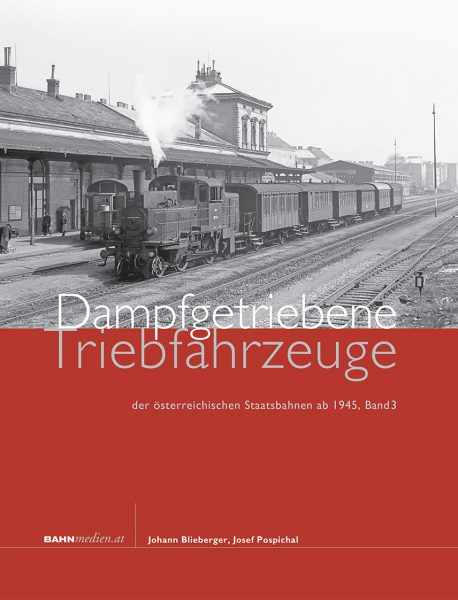 Cover Dampfgetriebene Tfz, Band 3