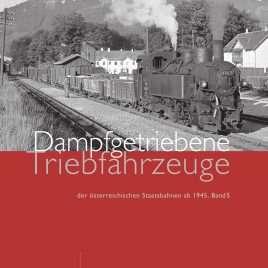 Cover Dampfgetriebene Tfz, Band 5