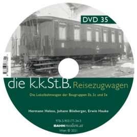 DVD zu Band 4 der kkStB-Reiszugwagen